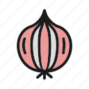 food, healthy food, onion, vegetable icon
