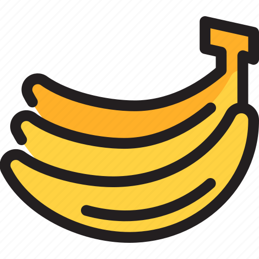 Banana, food, fruit, healthy, organic icon - Download on Iconfinder