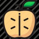 apple, food, fruit, organic, slice