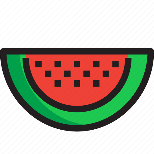Food, fruit, organic, watermelon icon - Download on Iconfinder