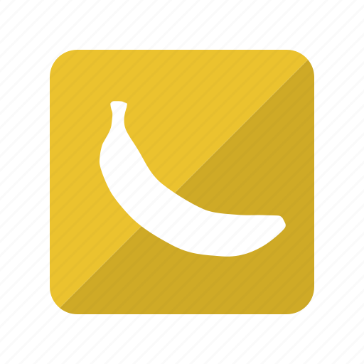 banana, fruit, fruta, platano icon
