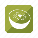 fruit, fruta, kiwi icon