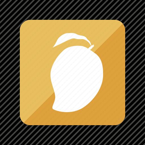 fruit, fruta, mango, tropical icon