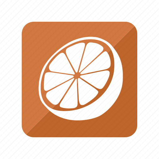 fruit, fruta, naranja, orange icon
