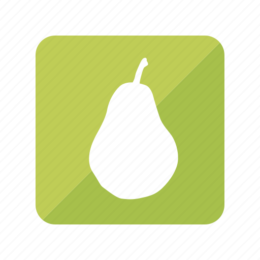 fruit, fruta, pear, pera icon