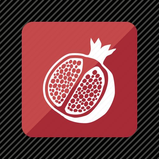fruit, fruta, granada, pomegranate icon