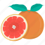 citrus, food, fruit, grapefruit, kitchen, meal, plant icon