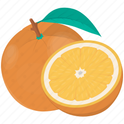 citrus, cooking, food, fruit, kitchen, meal, orange, plant icon
