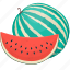 cooking, food, fruit, kitchen, meal, plant, watermelon icon