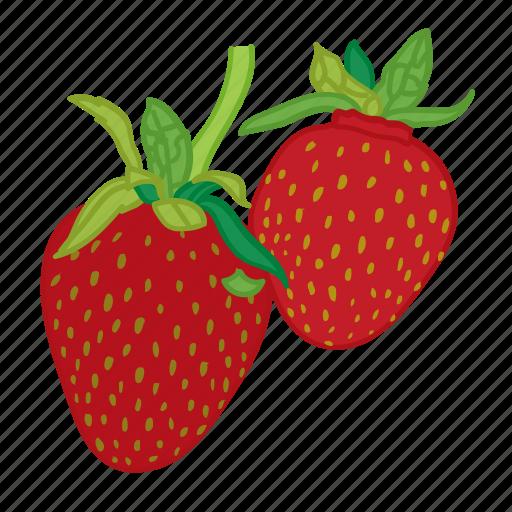 flavor, fruit, strawberries, strawberry icon