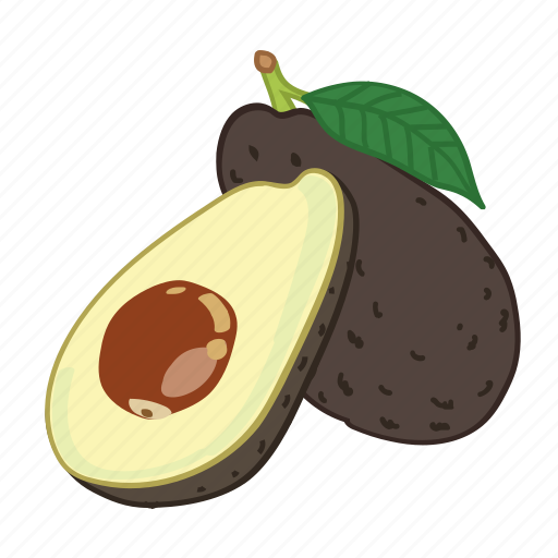 avocado, avocados, fruit, juice icon