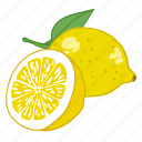 flavor, fruit, lemon, lemonade, lemons icon