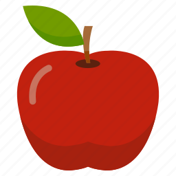 apple, food, fresh, fruit, health, vegetables icon
