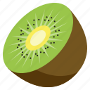 food, fresh, fruit, health, kiwi, vegetables icon