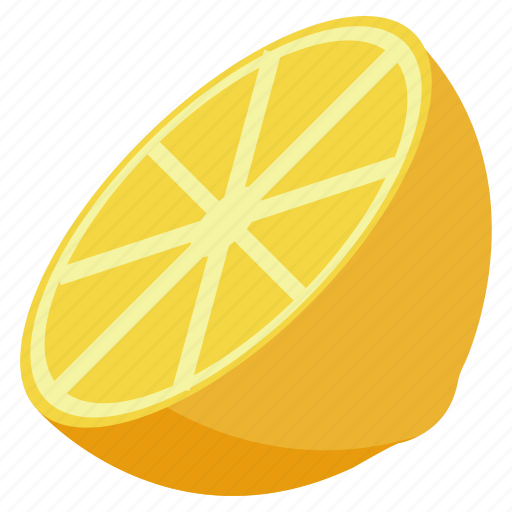 food, fresh, fruit, health, lemon, vegetables icon