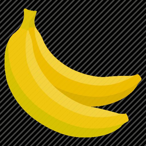 banana, food, fresh, fruit, health, vegetables icon