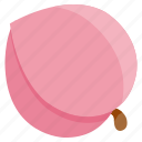 food, fresh, fruit, health, peach, vegetables icon