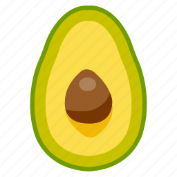 avocado, food, fresh, fruit, health, vegetables icon