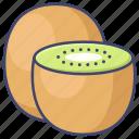 food, fruit, kiwi