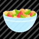 tasty, fruit, salad, food