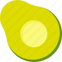 avocado, but, food, fruit, tropical icon