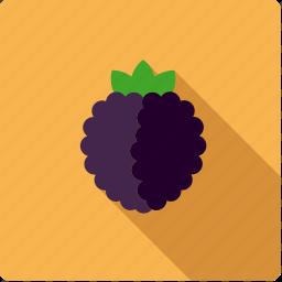 berry, blackberry, brambleberry, food, fruit icon