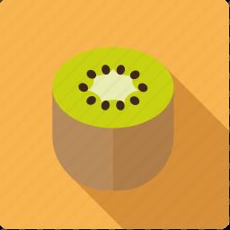 food, fruit, half, kiwi icon