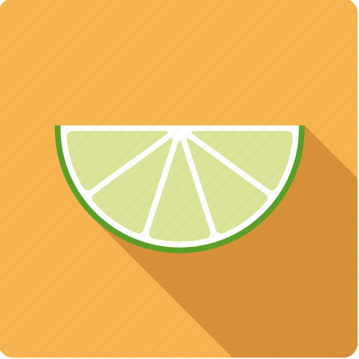 citrus, food, fruit, lime, slice icon