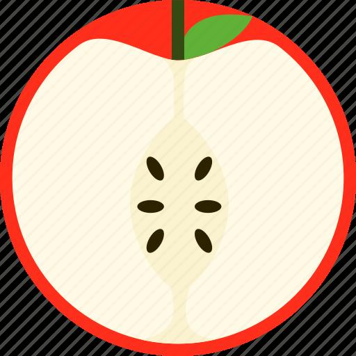 apple, dessert, food, fresh, fruit, meal, sweet icon