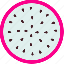 dessert, dragonfruit, food, fresh, fruit, healthy, sweet icon