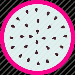 dessert, dragonfruit, food, fresh, fruit, healthy, sweet icon