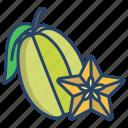 star, fruit