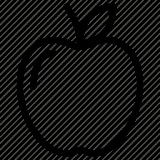 apple, fresh, fruit, health, healthy icon