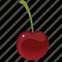 cherries, cherry, dessert, diet, eco, food, fresh, fruit, healthy, nutrition, sweet, vegetarian icon