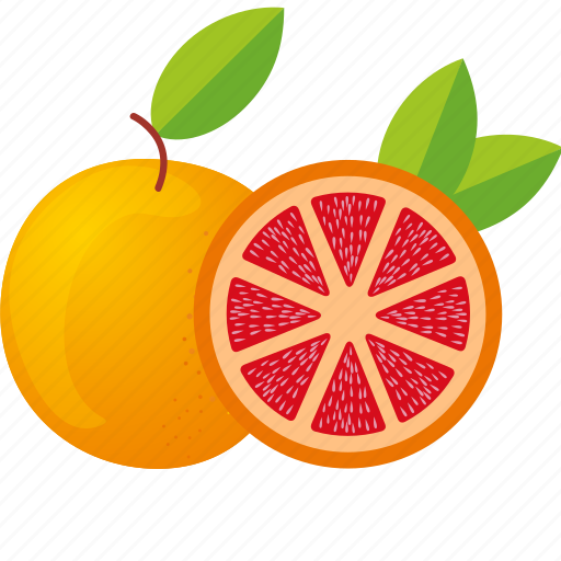 dessert, diet, eco, food, fresh, fruit, grapefruit, healthy, juice, nutrition, orange, sweet, vegetarian icon