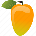 dessert, diet, eco, food, fresh, fruit, healthy, juice, mango, nutrition, sweet, vegetarian icon