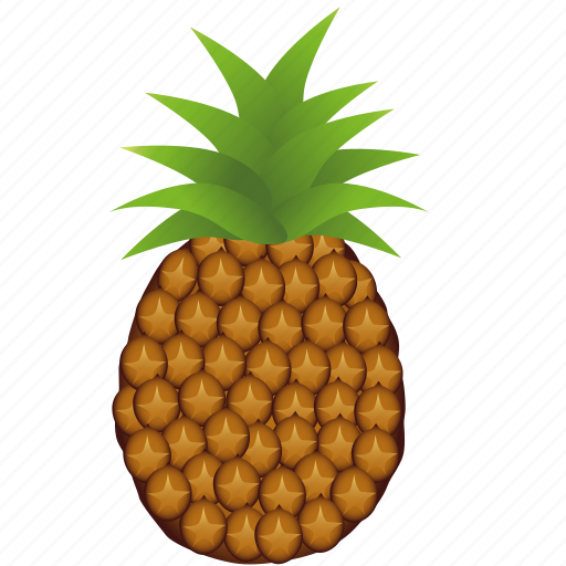 ananas, dessert, diet, eco, food, fresh, fruit, healthy, nutrition, sweet, tropical, vegetarian icon