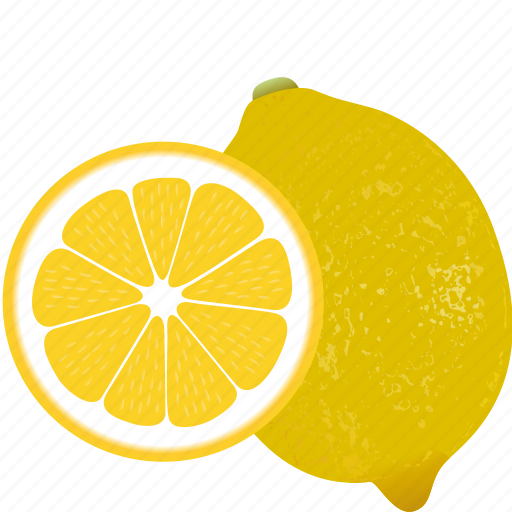 dessert, diet, eco, food, fresh, fruit, healthy, lemon, nutrition, sweet, vegetarian icon