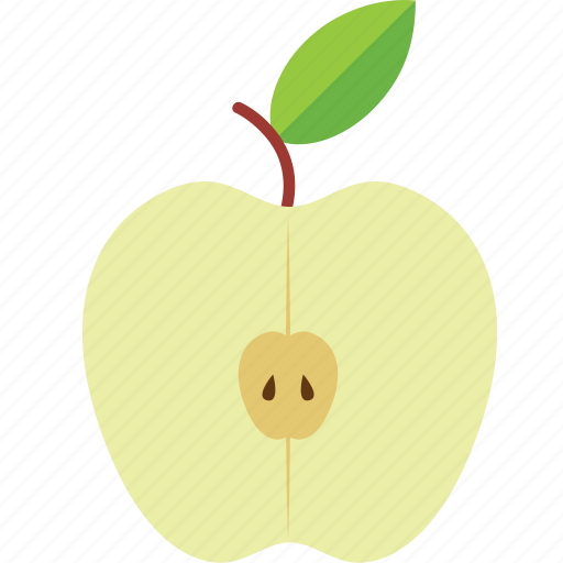 apple, dessert, diet, eco, food, fresh, fruit, healthy, nutrition, sweet, vegetarian icon