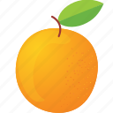 dessert, diet, eco, food, fresh, fruit, healthy, nutrition, orange, sweet, vegetarian icon