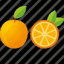dessert, diet, eco, food, fresh, fruit, healthy, juice, nutrition, orange, sweet, vegetarian icon