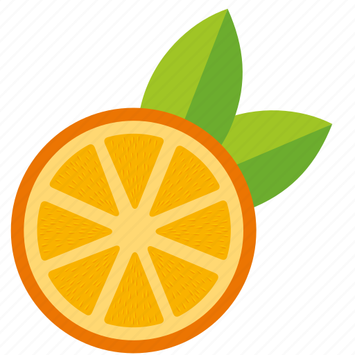 dessert, diet, eco, food, fresh, fruit, healthy, juice, nutrition, orange, sweet, vegetarian icon