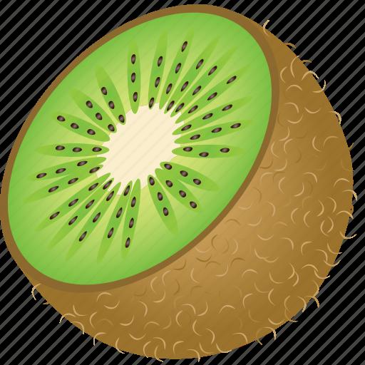 dessert, diet, eco, food, fresh, fruit, healthy, kiwi, nutrition, sweet, tropical, vegetarian icon
