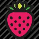 strawberry, organic, food, dessert, healthy, fruit, fruits