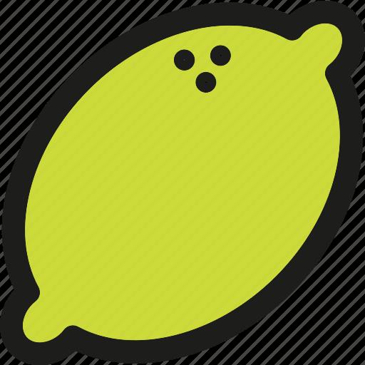 Lemon, dessert, food, fruit, fruits, healthy, organic icon - Download on Iconfinder
