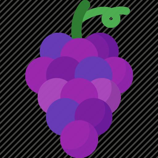 dessert, food, fruit, fruits, grape, healthy, organic icon