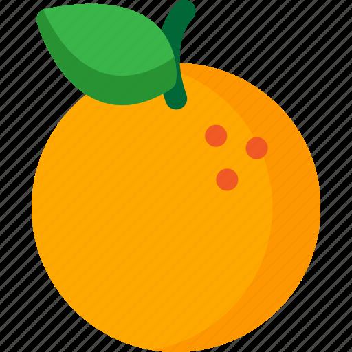 dessert, food, fruit, fruits, healthy, orange, organic icon