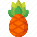 dessert, food, fruit, fruits, healthy, organic, pineapple icon