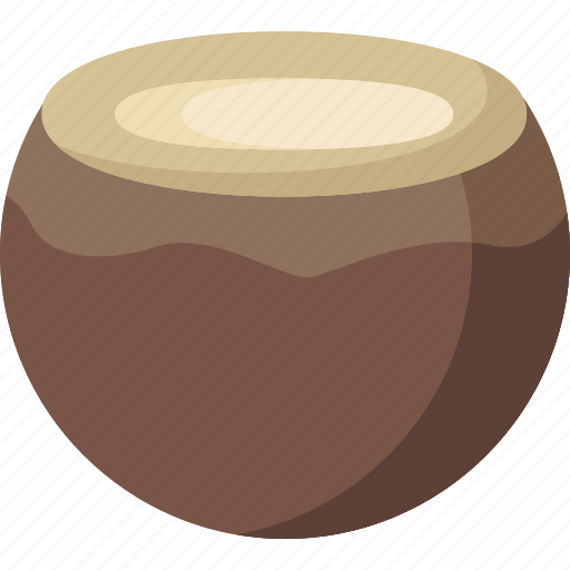 coconut, dessert, food, fruit, fruits, healthy, organic icon