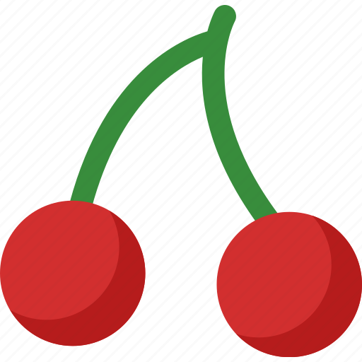 cherry, dessert, food, fruit, fruits, healthy, organic icon